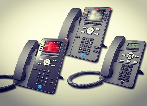 Unified Communications options that are cutting edge.  The new Avaya J series phones