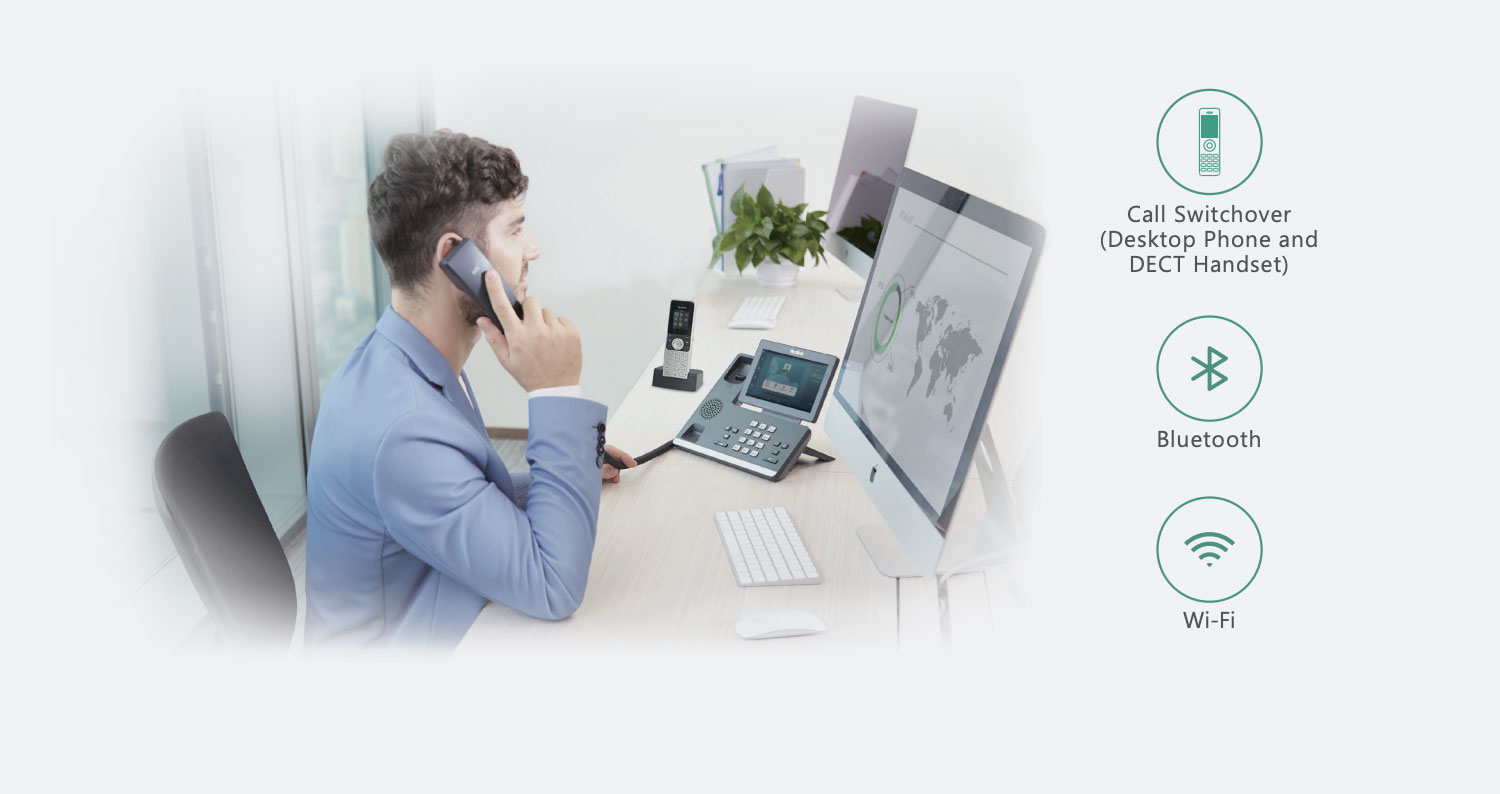 agent on ip phone for cloud phone system for small business