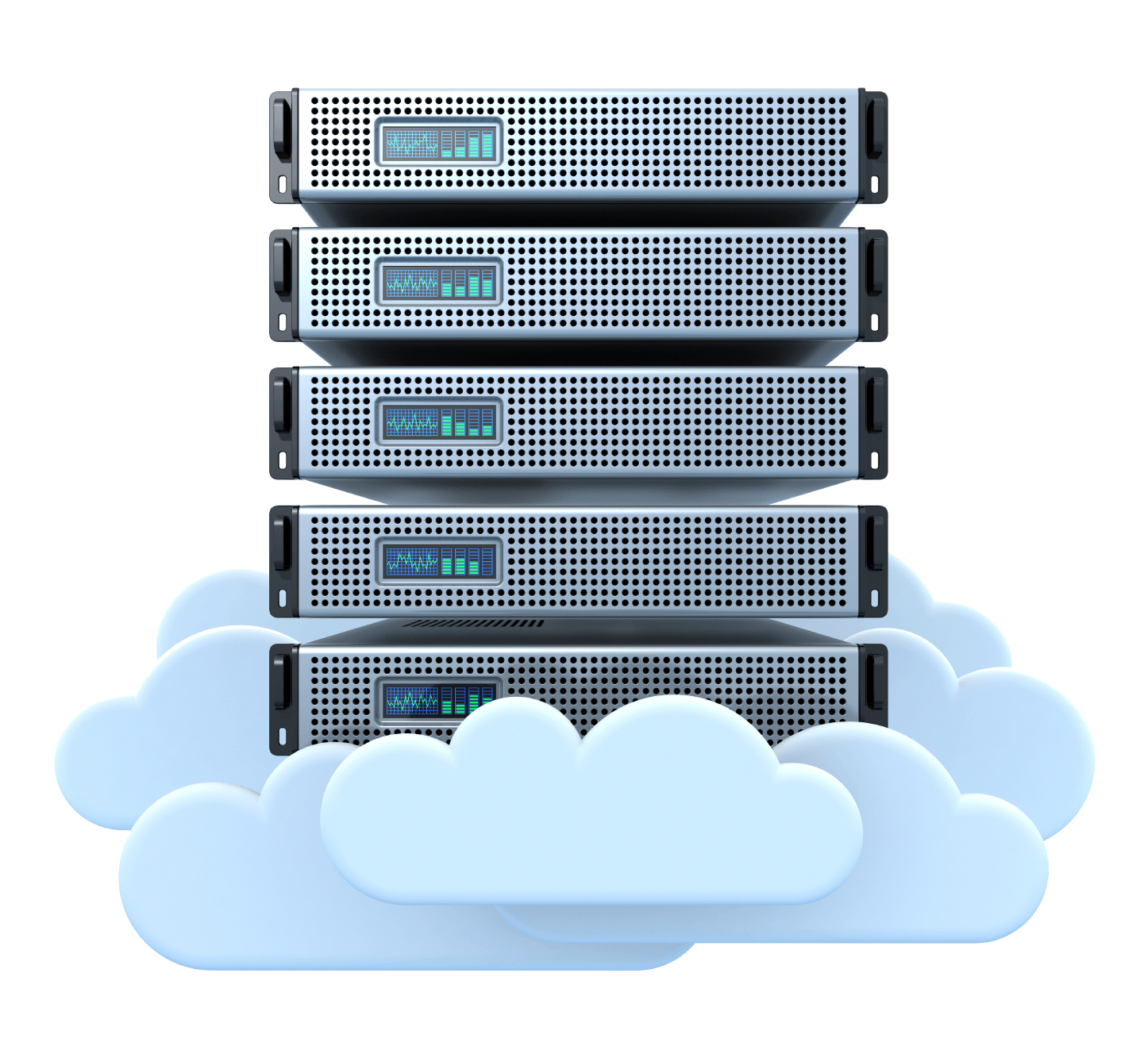 Data is backed in the cloud when using a cloud phone system for small business